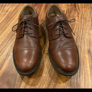 Johnston & Murphy Brown.Leather Shoes Size 11 M